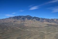 Aerial shot taken in Las Vegas Royalty Free Stock Photos