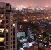 Aerial shots gurgaon delhi cityscape Royalty Free Stock Photography