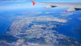 Aerial Singapore Stock Photo