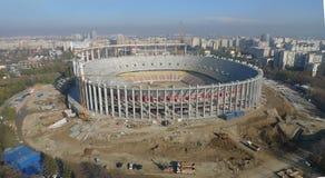 Aerial stadium Stock Image