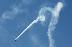 Aerial stunt Royalty Free Stock Photography