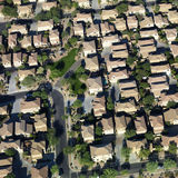 Aerial of suburbs. Stock Photography