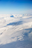 Aerial of Svalbard Royalty Free Stock Photography