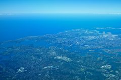 Aerial sydney Royalty Free Stock Photos