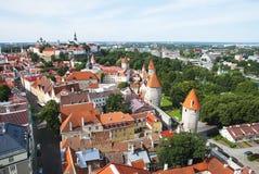 Aerial Tallinn Stock Photography