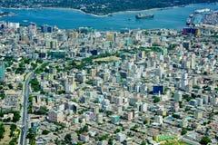 Aerial tanzania royalty free stock photo