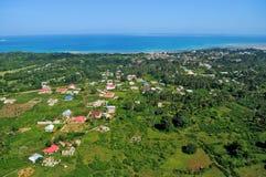 Aerial tanzania stock photography