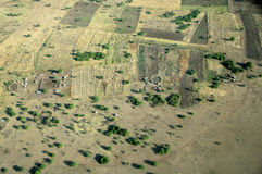 Aerial tanzania Stock Photography