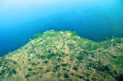 Aerial tanzania Stock Image