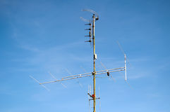 Aerial Television Antenna Royalty Free Stock Image