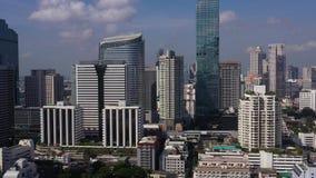 Aerial Thailand Bangkok Downtown September 2019 Sunny Day 4K Mavic Pro