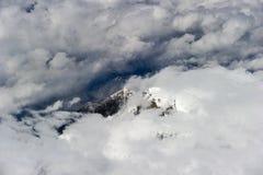 Aerial Tibet mountain Stock Photo