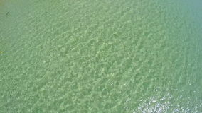 Aerial Top Shot Of Lake Surface. Aerial View - Top Shot Of Lake Surface stock video