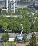 Aerial tram, Portland OR. Royalty Free Stock Photos
