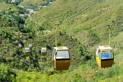 Aerial tramway Stock Photo
