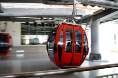 Aerial tramway Royalty Free Stock Photography