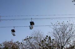 Aerial Tramway  Royalty Free Stock Photos
