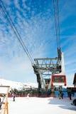 Aerial tramway Stock Image