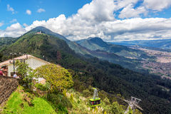 Aerial Tramway on Monserrate Royalty Free Stock Photo