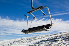 Aerial tramway in Mountain range Serra da Estrela, Stock Images