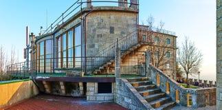 Aerial tramway from San Marino to Monte Titano Royalty Free Stock Photos
