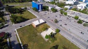 Aerial urban city block Stock Image