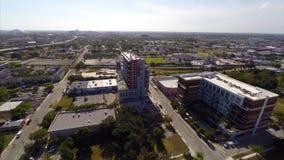 Aerial urban city block Stock Photography