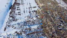AERIAL: Urban Refuse Dump from drone. 4K. AERIAL: Urban Refuse Dump from drone. 4K resolution stock video