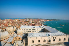 Aerial of venice Royalty Free Stock Photo