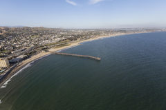 Aerial of Ventura in Southern California Stock Photography