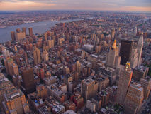 Aerial vew of New York City, USA Royalty Free Stock Photos
