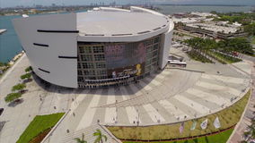 Aerial video AA Arena stock video