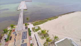 Aerial video AIDS Memorial Key West FL Stock Photography