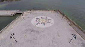 Aerial video AIDS Memorial Key West FL Stock Photos