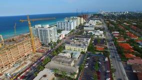 Aerial video Bal Harbour FL stock video