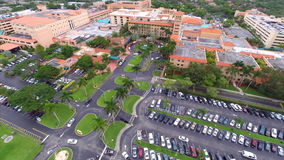 Aerial video Baptist Hospital Royalty Free Stock Photography