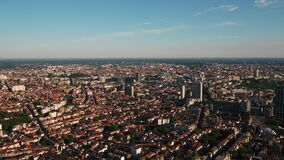 Aerial Belgium Brussels June 2018 Sunny Day 30mm 4K Inspire 2 Prores