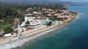 Butterfly Beach Montecito California stock video