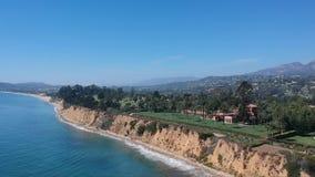 Butterfly Beach Montecito California 1 stock footage