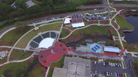 Aerial video Cascades Park stock video