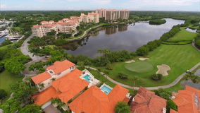 Aerial video Deering Estates. Stock aerial video of Deering Estates Miami FL
