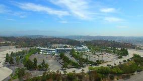 Aerial video Dodgers Stadium Los Angeles stock footage