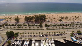 Aerial video drone Fort Lauderdale Florida gopro Royalty Free Stock Photos