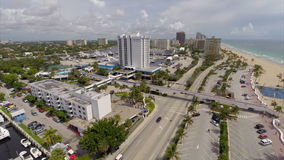 Aerial video drone Fort Lauderdale Florida gopro Royalty Free Stock Photo