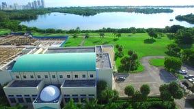 Aerial video FIU Florida stock video