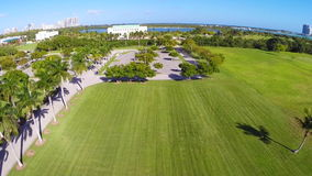 Aerial video of FIU Miami. Aerial stock footage of Florida International University in Miami Florida stock footage