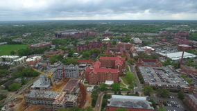 Aerial video Florida State University stock video footage