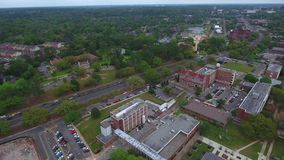 Aerial video Florida State University stock footage