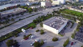 Aerial video footage of Hallandale Stock Photography