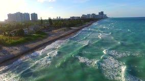 Aerial video of Golden Beach FL. Aerial 4k video of Golden Beach FL stock video